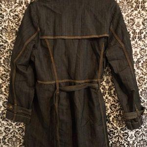 Women's quarter length denim coat